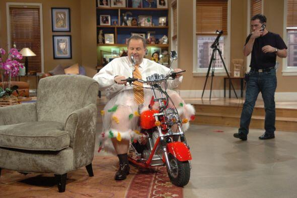 Una vez que Raúl se montó en su motocicleta, nadie pudo de...