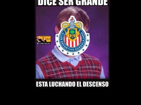 En redes sociales los aficionados se burlaron de la mala racha de Chivas...