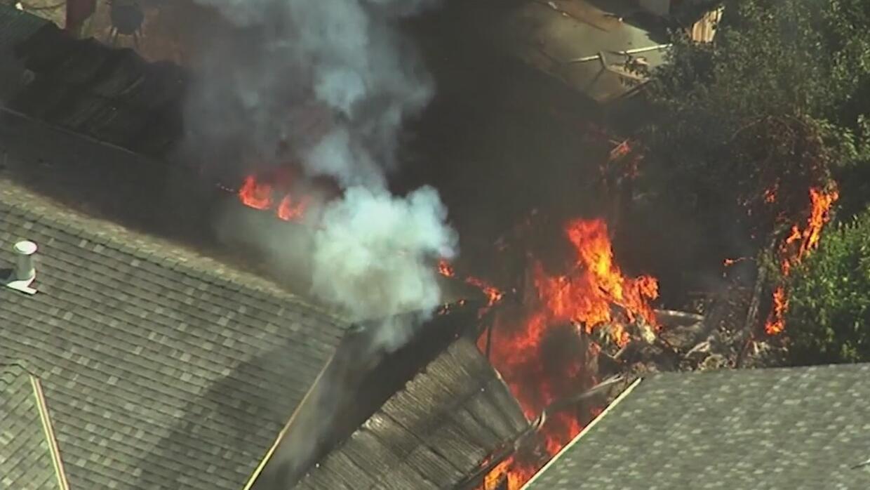 Incendio en casa de San José puso en riesgo la vida de varios inquilinos