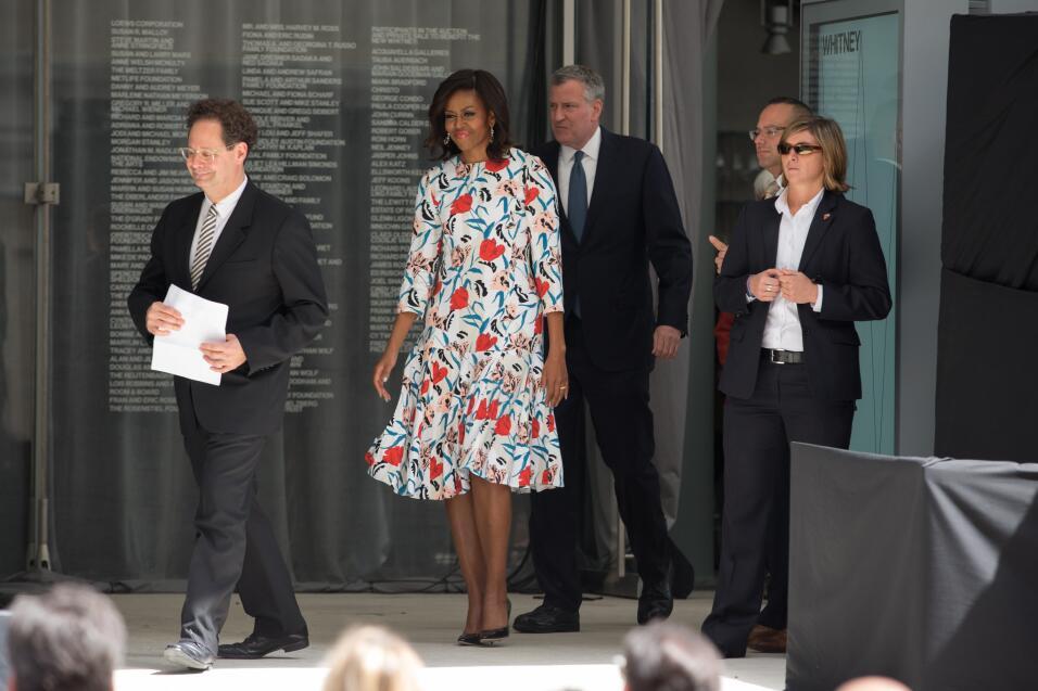 Michelle Obama y su optimismo hecho vestido   GettyImages-471669030.jpg
