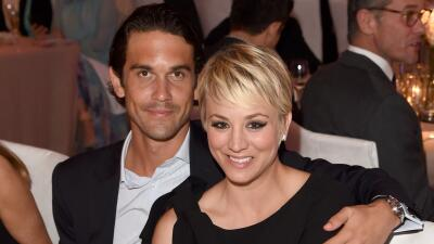 Kaley Cuoco y Ryan Sweeting durante su matrimonio.