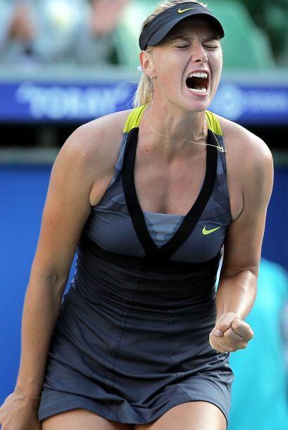La rusa Maria Sharapova continúa firme en el tonero de Tokyo y ahora su...