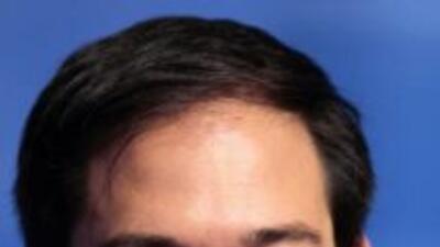 El candidato republicano al Senado, Marco Rubio, aventaja en 12 puntos a...