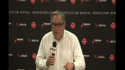 "Luis Dávila Colón truena contra ""amenaza terrorista"" de Anibal Acevedo V..."