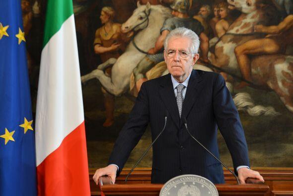 "ITALIA- El primer ministro italiano, Mario Monti, aseguró que ""apoya ple..."