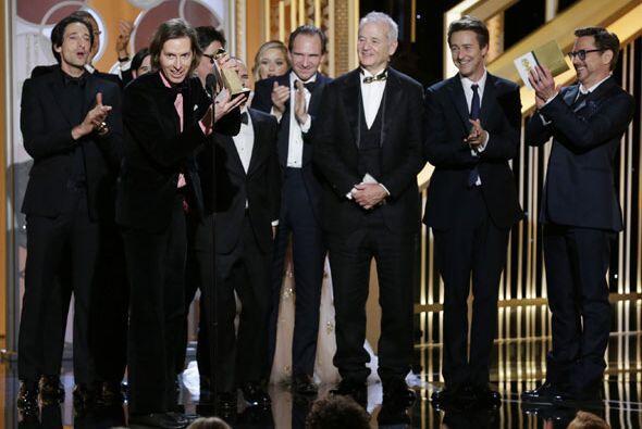 'The Grand Budapest Hotel' triunfó como Mejor Película - Comedia o Musical.