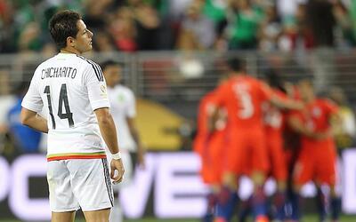 Chile humilló a México y lo sacó de la Copa América con un 7-0 aplastante