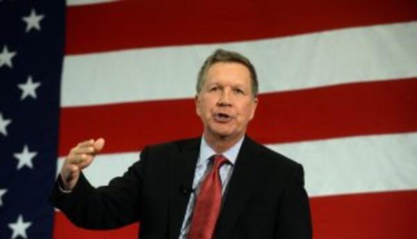 El gobernador de Ohio, John Kasich.