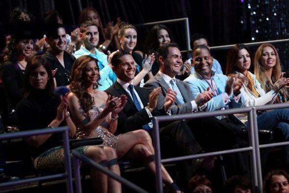 La familia de Univision nos acompañó en la primera gala.