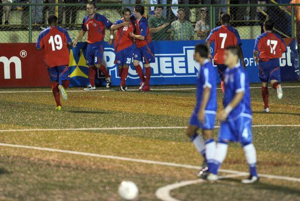 Los ticos encontraron la victoria en el minuto 87 cuando el jugador Josu...