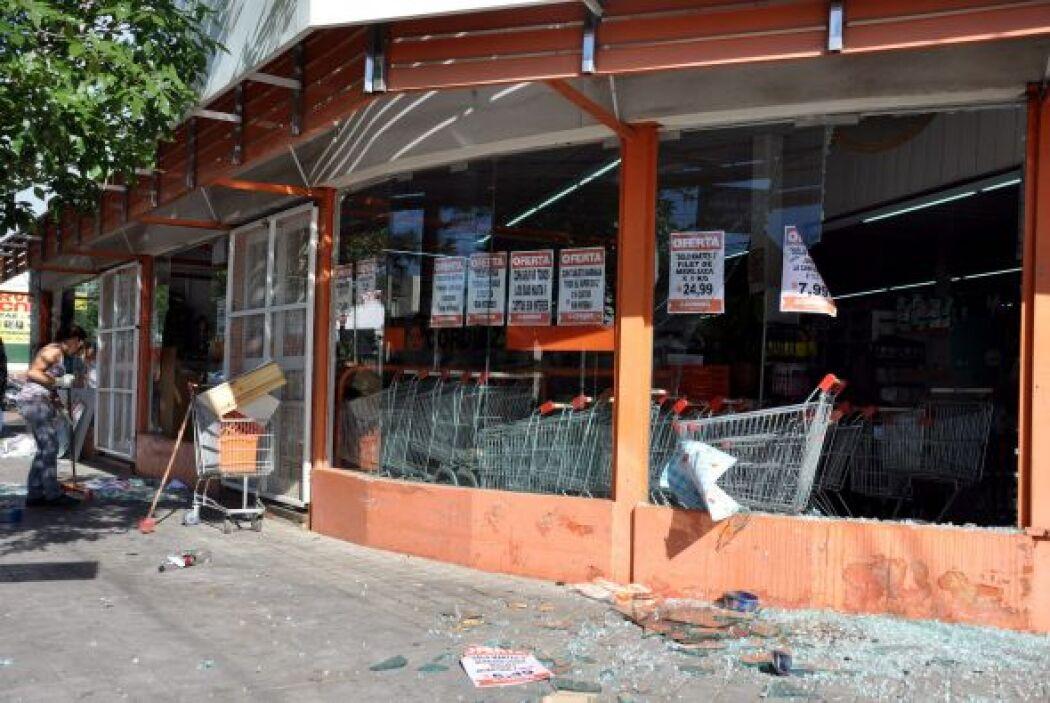 La noche del martes se realizaron varios saqueos en Córdoba Argentina. L...