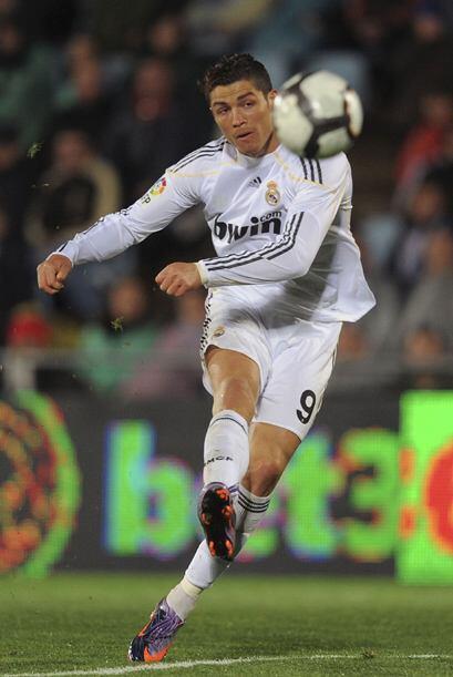 Así llegó el primero con un gran toque de Cristiano Ronaldo en un tiro l...