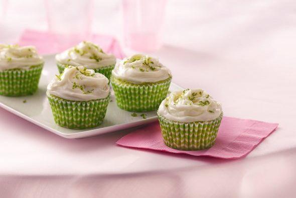 Panquecitos de limón 'lemon pie': Hoy tienes ganar de comer algo dulce p...