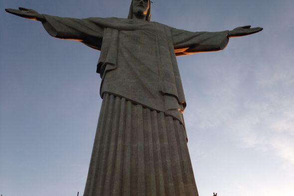 Esta fotografía es obligatoria si visitas el Cristo Redentor.