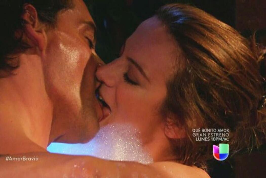 Con sus besos nos dejaron impactados.