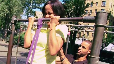 Birmania descubrió el nuevo ejercicio 'freestyle' que nació en Nueva York