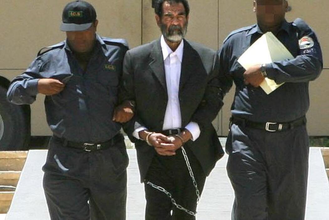 25. Saddam Hussein, ejecutado  Saddam Hussein fue encontrado culpable y...