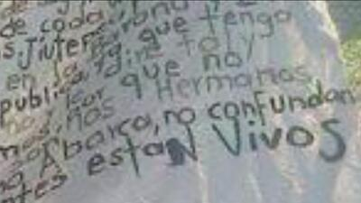 Guerreros Unidos asegura que estudiantes están vivos