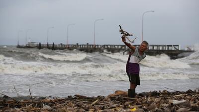 Alerta 3 en Filipinas por llegada del tifón Hagupit