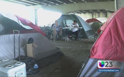 Futuro incierto para indigentes en Dallas