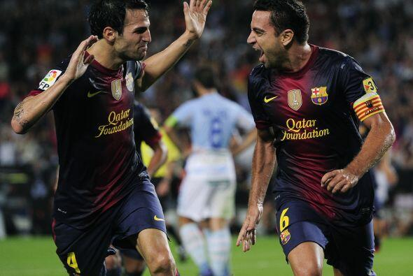 Y esto fue para marcarles y dar el camino del triunfo a un Barcelona que...