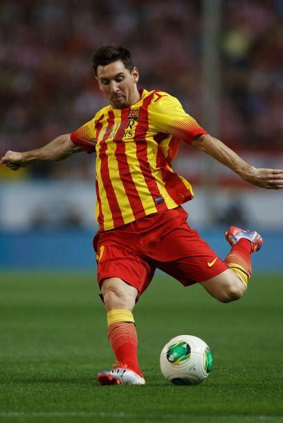 Pocos intentos de Messi en ofensiva y los disparos que llegó a intentar...