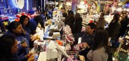 Compradores en Black Friday
