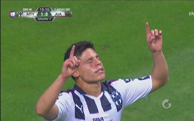 Golazo de Alfonso González para el 1-0 de Monterrey sobre Juárez FC