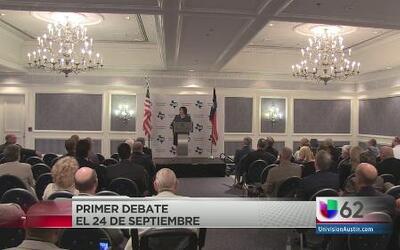 Confirman primer debate de vicegobernadores