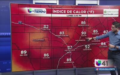 Cielos despejados para este Memorial Day en San Antonio