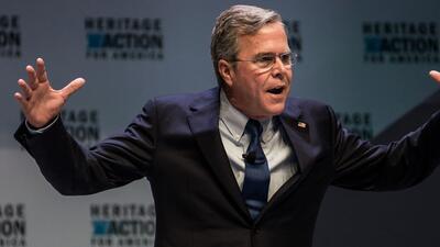 Jeb Bush, exgobernador de Florida y ex candidato presidencial republicano.