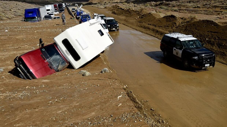 Desastre en California