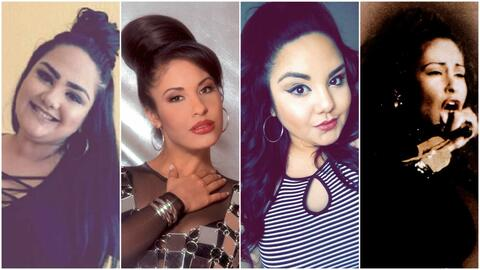Sandra Padilla se ha inspirado en los looks de Selena Quintanilla y Sele...
