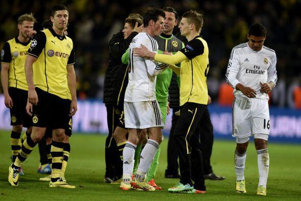 Mientras que Bale, que destacó como el mejor jugador merengue en el encu...