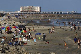 Galveston Beach.