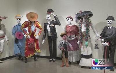 Exhibición del Día de los Muertos