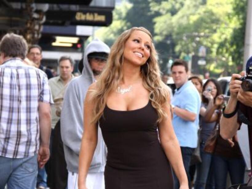 ¡Fiu Fiu! Mariah paraliza a todos los que se la encuentran en su camino.