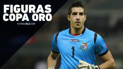 Jaime Penedo, una de las figuras de la Copa Oro