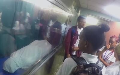 Estudiantes se enfrentan cara a cara con la muerte