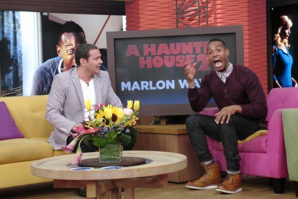 Marlon no dudó ni por un momento y nos regaló un momento inolvidable.