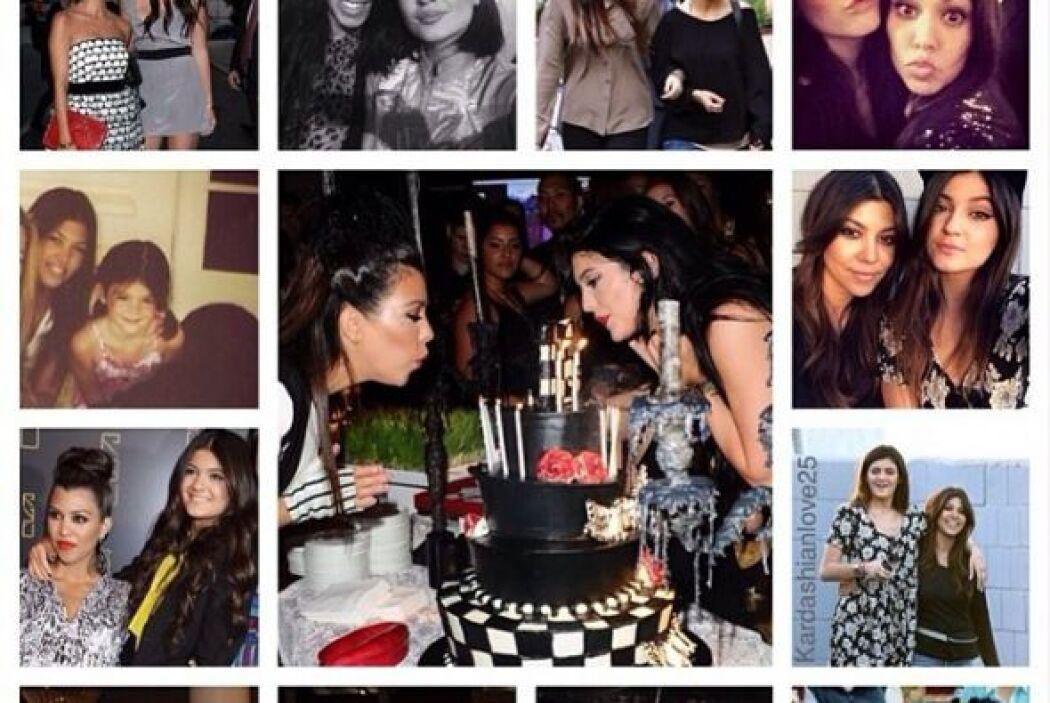 Todas las hermanas Kardashian subieron imágenes de su convivencia con Ky...