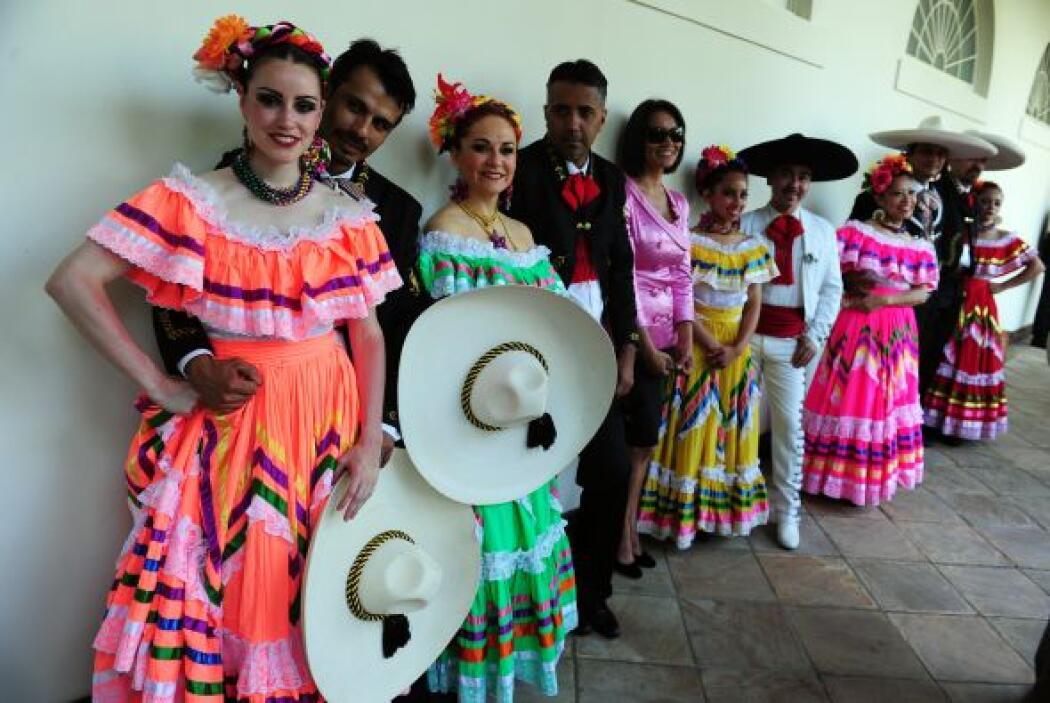 Muchos utilizan los trajes típicos del país para lucir bien mexicanos.