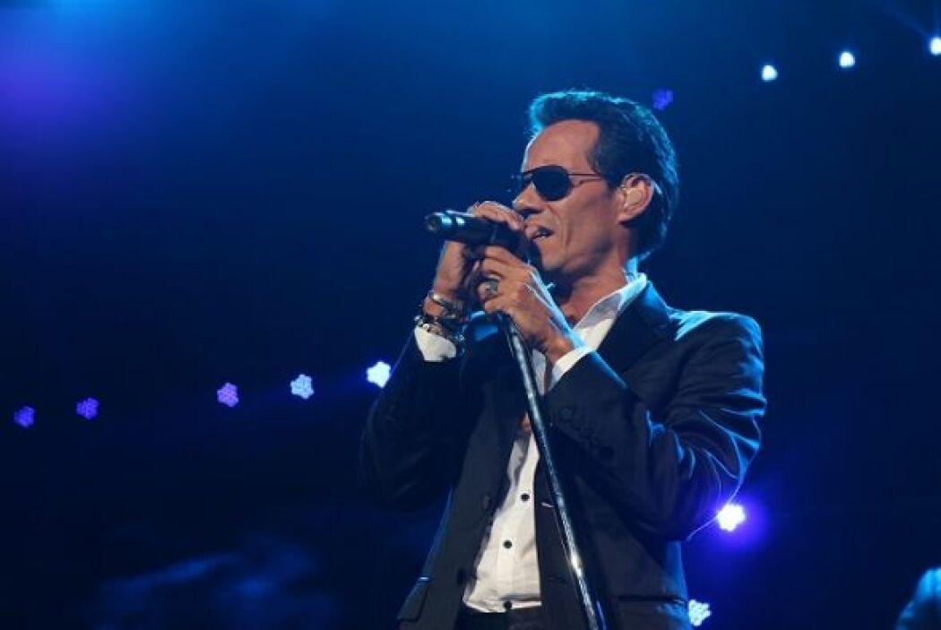 Fotografías tomadas durante el concierto de Marc Anthony, efectuado el 3...