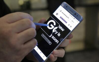Samsung ordenó el retiro del Galaxy Note 7 del mercado.
