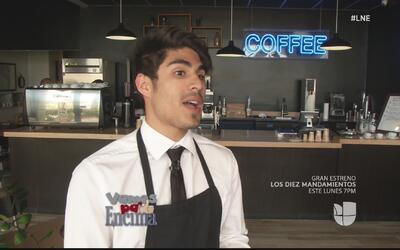 Joven de 21 años se hace camino gracias al café