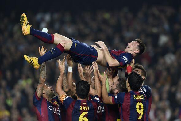 Messi llega a sus 253 goles en 289 juegos, aunque esa cifra seguir&aacut...