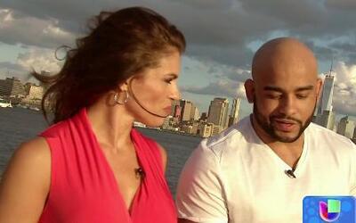 Warlley Alves, campeón de MMA, visitó Nueva York