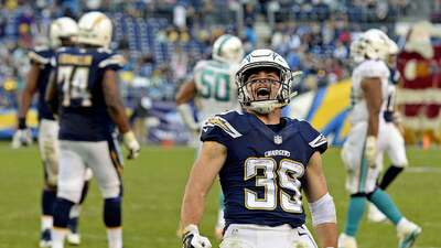 Chargers 30-14 Dolphins: Woodhead se llevó show en posible último juego...