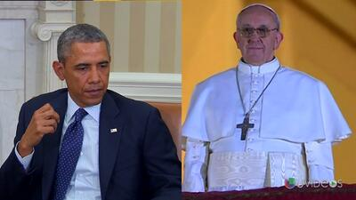 El presidente Obama visitará al Papa Francisco