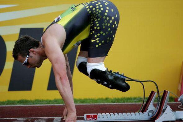 """""""Creo que (Pistorius) no debería correr porque tiene una ventaja enorme...."""